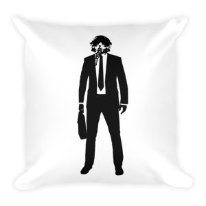 Fighter Pilot Fashion Suit Pillow