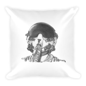 Fighter Pilot Helmet Pillow